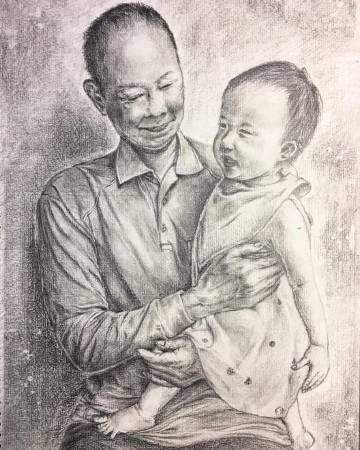 言宴-曾祖孫