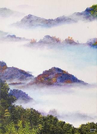 艾瑪 Amma-《追光者系列:雲霧柔光之二》Light Chaser : The Grand Sea Of Clouds In Tainan E