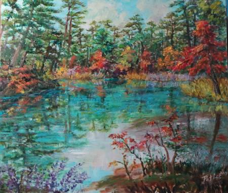 李芳時-燦爛秋景