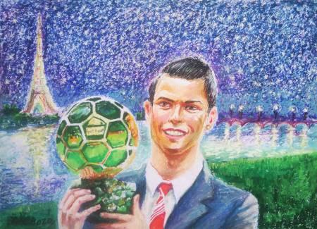 Ivan Yehorov-Cristiano Ronaldo, Brazillian Footballer