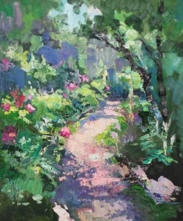 Pavel Veselkin-Garden path