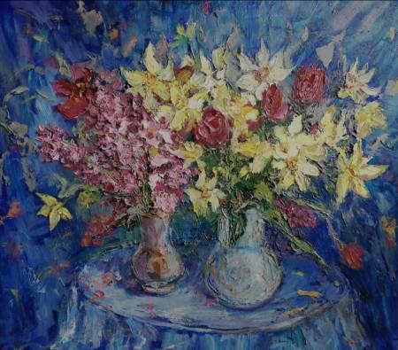 Natalia Nysh-Daffodils & Hyacinths bucket