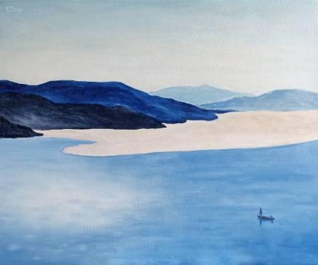 楊玉金-藍色峽灣
