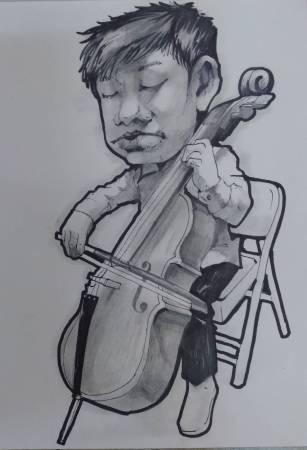 胡志誠-Q版大提琴手