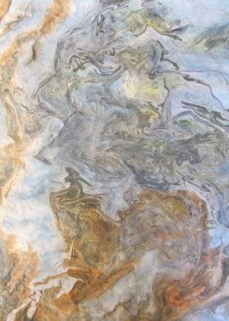 吳秀芳-猴子觀雲海