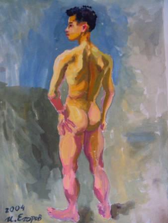 Ivan Yehorov-裸男-3 Nude Man