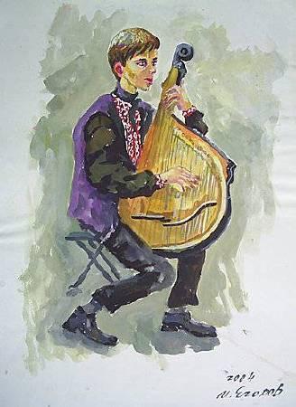 Ivan Yehorov-烏克蘭班都拉 Taras from Lviv