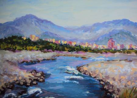 Ivan Yehorov-大甲溪清流 Tachia River