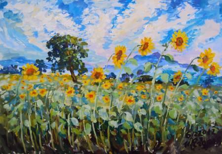 Ivan Yehorov-葵心映心 Sunflowers Always in My Mind