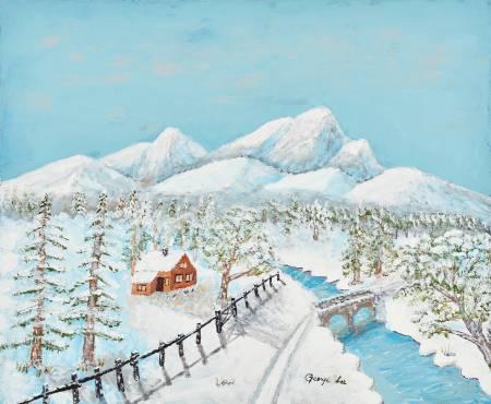 水長流-山中雪景 - 3 Snow Hill
