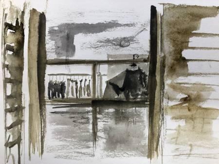 楊秉翰-奢華與簡陋(ㄧ)-隔著門外的人