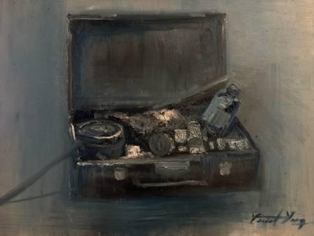 楊秉翰-油畫的箱