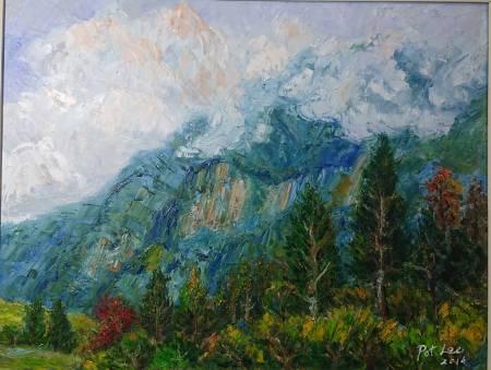 李芳時-塔山雲靄