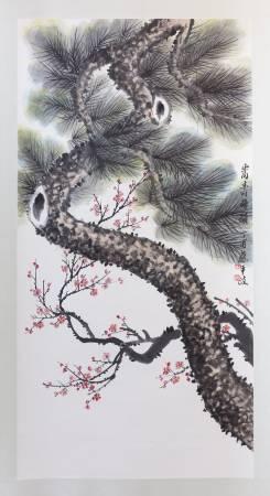 蔡平政-嵩壽梅韻