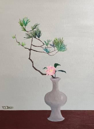 楊玉金-瓶與花 No.3