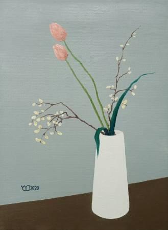 楊玉金-瓶與花 No.4