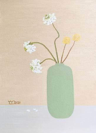 楊玉金-瓶與花 No.5