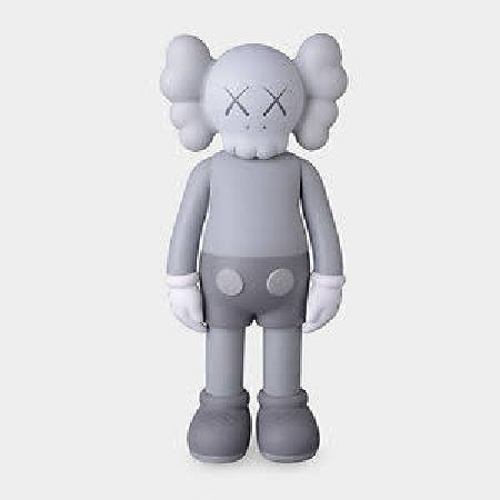 多納藝術-KAWS - Full Body Gray COMPANION Figure (灰)