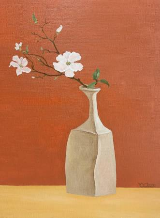 楊玉金-瓶與花 No. 7