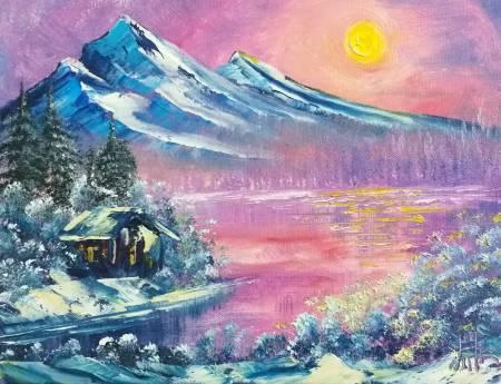 鄭淵仁-雪中仙境
