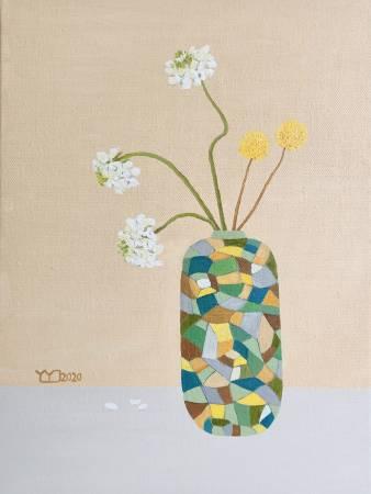 楊玉金-瓶與花 No. 5