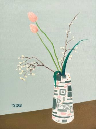 楊玉金-瓶與花 No. 2