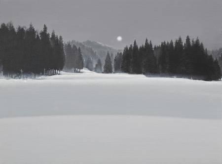 多納藝術-傅作新 寧靜的月