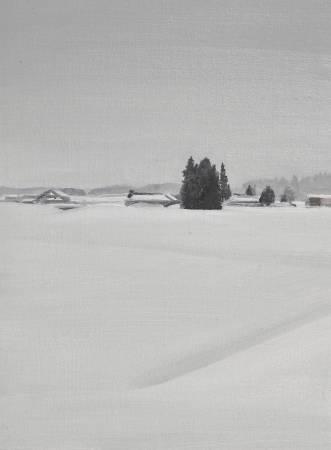 多納藝術-傅作新 雪國