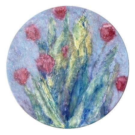 朱若茵-鬱金香Tulip(圓型)