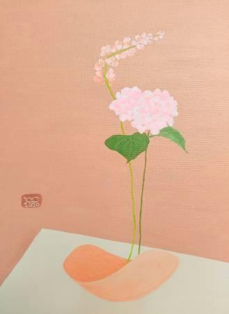 楊玉金-瓶與花 No.9