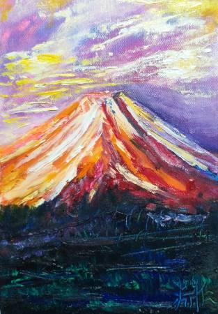 鄭淵仁-富士山與風格~1