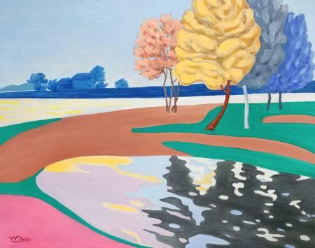 楊玉金-夢中的彩色河畔