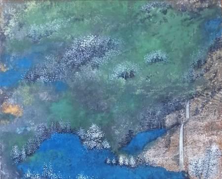 廖麗玲 Liling-思古幽情 Verdantly Landscape