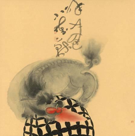 109年「璞玉發光-全國藝術行銷活動」得獎者作品聯展-黑傢具-呼嘯小怪獸7