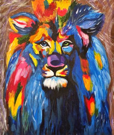 Mina-彩色獅