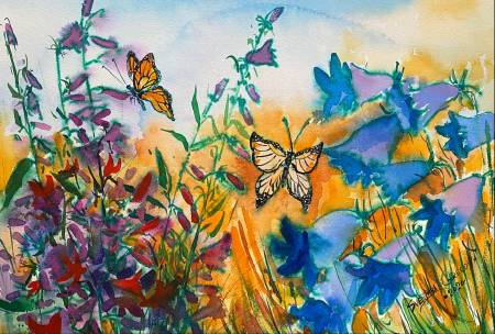 葛拉娜-How is life like a flower field