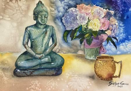 葛拉娜-Blessings from blue Buddha