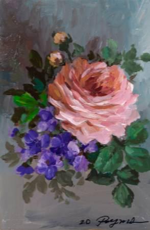 彭明力-玫瑰花 F016