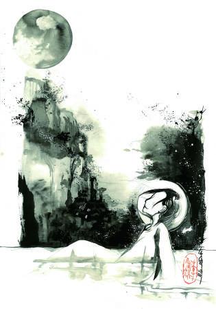 希沁-沉靜 (含框)