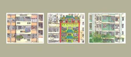 三可馬凱麗-港。窗
