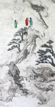 吳秀芳-修行系列~~寒山問禪-20