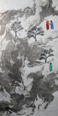 吳秀芳-修行系列~~寒山問禪-23
