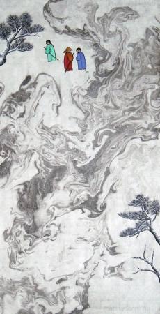 吳秀芳-修行系列~~寒山問禪-34