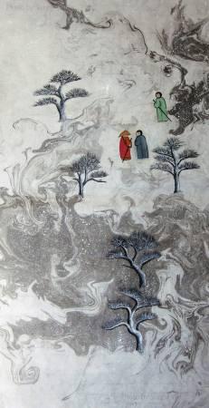 吳秀芳-修行系列~~寒山問禪-35