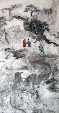 吳秀芳-修行系列~~寒山問禪-51