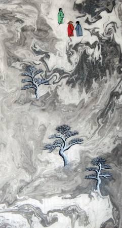 吳秀芳-修行系列~~寒山問禪-43