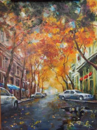 彭滂沱-紐約街景