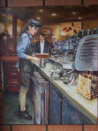 彭滂沱-咖啡師