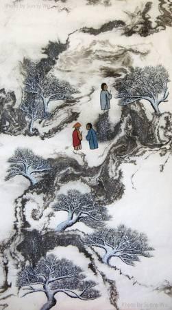 吳秀芳-修行系列~~寒山問禪-4