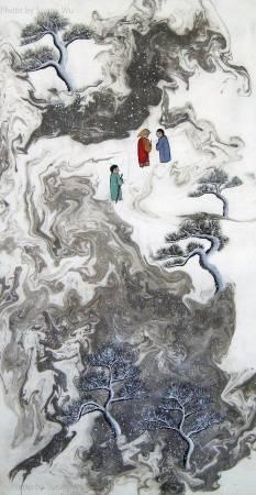 吳秀芳-修行系列~~寒山問禪-15